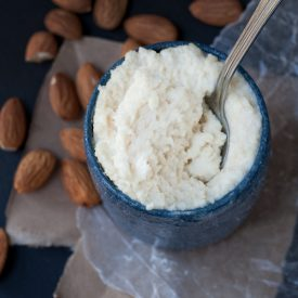 Easy, no soak Ricotta-style Almond Cheese